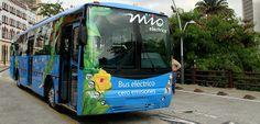 Presentan el primer bus fabricado 100 % en #Cali, para el transporte masivo de la ciudad