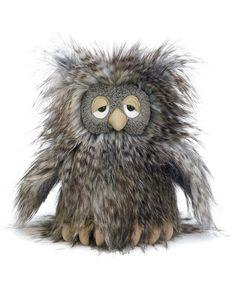 Jellycat - Kuscheltier ORLANDO OWL (23cm) in grau, EUR 34,50