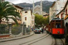 Take some ideas to spend your time in #Mallorca - Photo: Sóller to Palma train