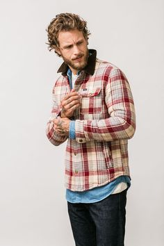 The Brixton Cass Jacket is perfect for fall nights.