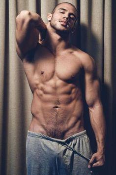 Anal breakthrough as stunning muscled dicks