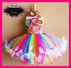 """over the top"" Tutu Dress"