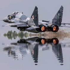 You can find Military aircraft and more on our Fulcrum low level pass, Polish Air Force. Jet Fighter Pilot, Air Fighter, Fighter Jets, Best Fighter Jet, Airplane Fighter, Fighter Aircraft, Aircraft Parts, Military Jets, Military Weapons