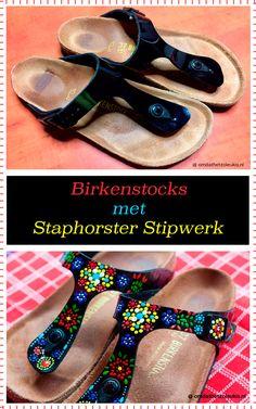 Mandala Painted Rocks, Birkenstocks, Slippers, Sandals, Folklore, Shoes, Painting, Fashion, Pointillism