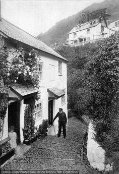 Clovelly, Rose Cottage 1906