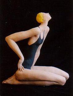 Sally Hook Clay People, Ceramic Figures, China Porcelain, Impressionism, Bjd, Art Boards, Sculpture Art, Make Me Smile, Art Dolls