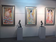 Fabulous new works by Patterson Parkin,  extraordinary art for extraordinary people.  Now on view in gallery.
