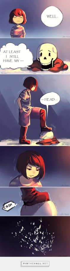 Frisk and Papyrus - comic