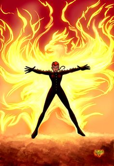 Rachel Summers Colored by RichBernatovech.deviantart.com on @deviantART
