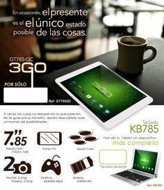 ¡¡Por sólo 107,95 tu nueva tablet 3GO!!