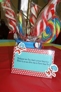 Mommy Made: Thing 1 and Thing 2 Have a Party!!