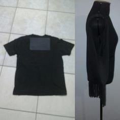 Uma camiseta pode virar uma bolsa!