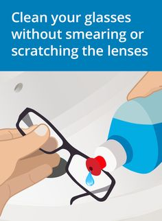 43b646519a4 Good Afternoon. See more. 8 Steps to Cleaning Your Glasses the Right Way.  Cleaning Eye Glasses
