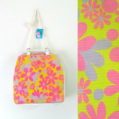 Mid Century Mod Beach Tote Bag New With Tags Deadstock Natco