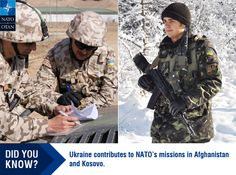 #Ukraine contributions to #NATO missions ( #Afghanistan and #Kosovo )