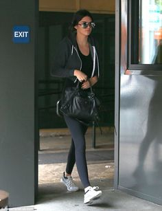 Rare break: Kendall Jennerstar managed to steal away some me time on Thursday, heading to...