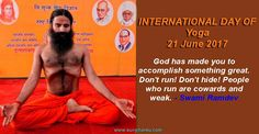 Ramdev Yoga Quotes 21 June Yoga Day, Ramdev Yoga, International Day, Yoga Quotes, Yoga Benefits, Asana, Positivity, Exercise, People