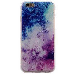 Milky Way Style Protective Back Cover Case with TPU Material for iPhone 6 - 4.7 inches
