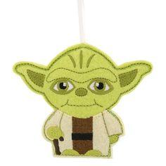 Star Wars Yoda/Darth Vader Ornament Assorted