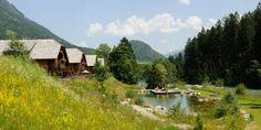 Bergchalet in traumhafter Lage - Kärnten Österreich Cabin, Mountains, House Styles, Nature, Travel, Wellness, Chalets, Naturaleza, Viajes