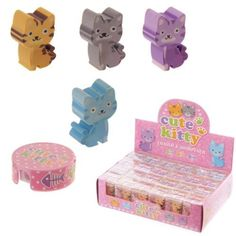 Shop today for Fun Cute Kitten Eraser and Sharpener Gift Set by weeabootique !