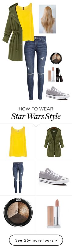 """Untitled #23"" by melissakkr on Polyvore featuring H&M and Converse"