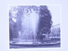 Inne ujęcie fontanny na rynku, obok ratusza