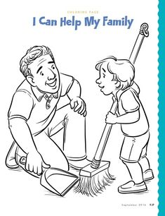 Jesus Coloring Pages, School Coloring Pages, Coloring Pages For Kids, Coloring Books, Infant Activities, Preschool Activities, Activities For Kids, Islam For Kids, I Love My Dad