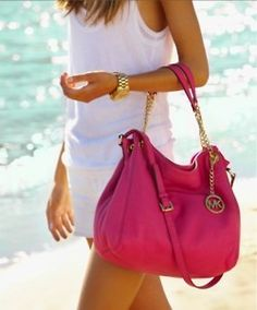 Michael Kors Tote...His bags are exquisite.
