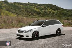 HRE Mercedes Benz AMG E63 Wagon & AMG CLS63 by 1013MM, via Flickr