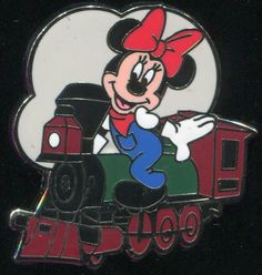 disney trading pin PWP Collection - Train Conductor - Minnie - Google Search