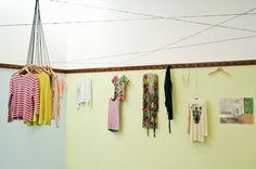 hanging clothes idea