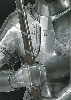 "effervescentaardvark:  English foot combat armour, 1520. copyright: Board of trustees of the Armouriessource: ""Knight: The warrior and World of Chivalry."" by Robert Jones. ISBN: 9781782001829"