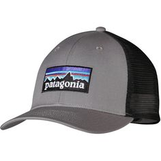 ee4926eba25 Patagonia P6 Trucker Hat ( 29) ❤ liked on Polyvore featuring accessories