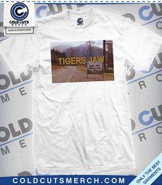 """Tigers Jaw """"Twin Peaks"""" Shirt"""