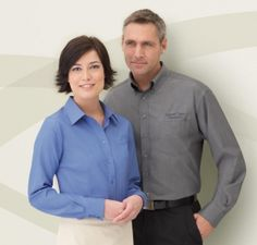 Promotional Products Ideas That Work: Men's rayon (from bamboo) long sleeve shirt. Get yours at www.luscangroup.com