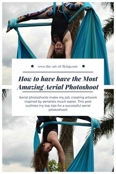 Aerial photoshoots make my job, creating artwork inspired by aerialists much easier. This post outlines my top tips for a successful aerial photoshoot.