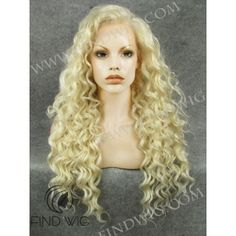 Drag Lace Front Wig. Curly Blonde Long Wig. Online Wigs Store