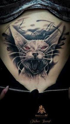 f2b1b8c7e9978 János Fehér tattoo - Google Search Cat Tattoo, Animal Tattoos, Interview, Tattoo  Cat