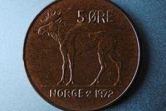 Norway 5 Ore 1972