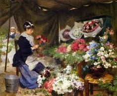 Image result for Eugene de Blaas the flower seller