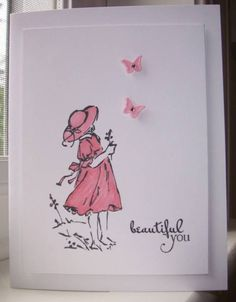 """Beautiful You **** Stamp set: SU """"Summer by the Sea"""", retired."""