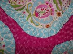 Kumari Garden Minky Blanket with Handmade Cotton by BabyBeulah, $60.00