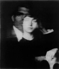 Hannah Höch, Self-Portrait with Raoul Hausmann, ca 1919
