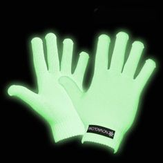 Both fun and functional, these glow in the dark gloves are great for sensory rooms and dark dens, but are also intended for sign-language users to use at night