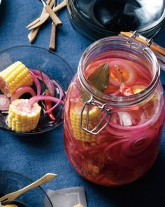 "See the ""Quick-Pickled Corn"" in our  gallery"