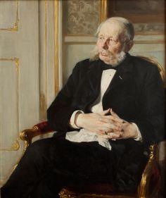 Baron Otto Ditlev Rosenørn-Lehn by Peder Severin Krøyer, 1891. Statens Museum for Kunst, CC0