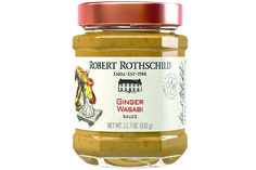 An award-winning combination of the intensity of ginger with the jolt of wasabi. Let your spring rolls linger or enliven steamed vegetables. But it is most at home on smoked salmon filets, sushi, or slathered inside a seared tuna sandwich. $6.99 at robertrothschild.com.