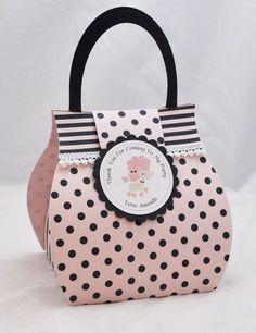 Poodle Cupcake Box Purse Favor Bag by CardsandMoorebyTerri, $6.50
