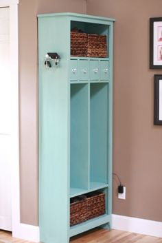 Locker Cabinet by The Friendly Home